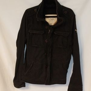Distressed Army Jacket by Abercrombie